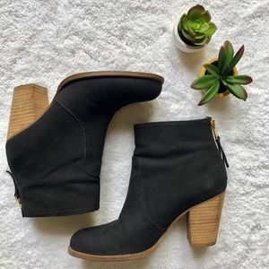 C. Wonder Canvas Bootie